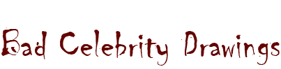 Bad Celebrity Drawings Logo