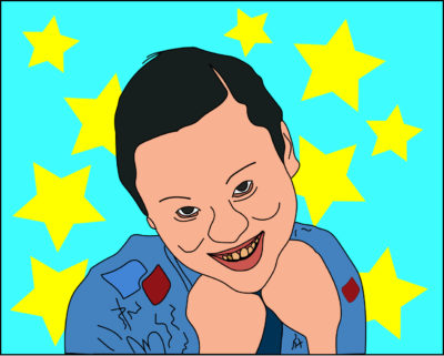 William Hung art