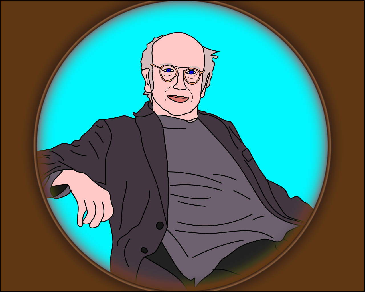 larry david art